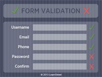 If you are building a webpage, chances are you are going to need some kind of field form for users to enter data and a way to validate the information. In this simple but useful project you will write the code for a form validator script. Let's do it!