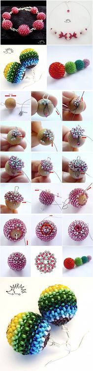 DIY Nice Bead Earrings DIY Projects / UsefulDIY.com on imgfave