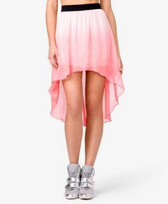 Love this #Ombré High-Low Skirt from #Forever21 with 4% cash back http://www.studentrate.com/itp/get-itp-student-deals/Forever21-Student-Discounts--/0