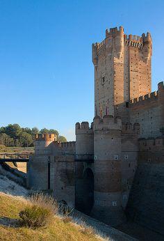 Castillo de la Mota: Barbican | Medina del Campo, Spain
