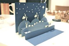 papermakin': Pop Up Nativity Card