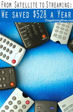From Satellite to Streaming: We saved $528 a Year!