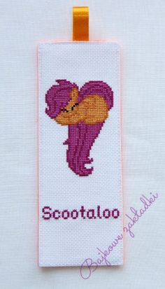 Zakładka do książki Scootaloo Scootaloo bookmark