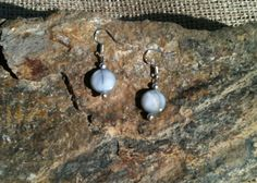 Handmade Tiny Steel Mother of Pearl Disc by MetalsByMelissa, $20.00  https://www.etsy.com/listing/116071256/handmade-tiny-steel-mother-of-pearl-disc #Earrings #CyberMonday