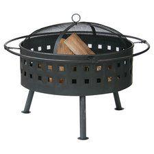 Harding Steel Wood Fire Pit