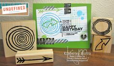Stamp set carved by Kimberley Morris