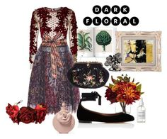 """""""Untitled #221"""" by cristinachioseaua ❤ liked on Polyvore featuring Amen, Etro, French Girl, Nearly Natural, Tabitha Simmons, Rock 'N Rose, Valentino and Michael Aram"""