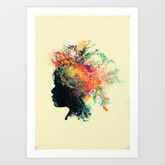 Wildchild (aged ver) Art Print by Budi Satria Kwan -  Starting at $19.97