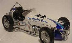 Vintage Sprint Car Racing