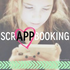 "scrAPPbooking. Great ideas for lots of different apps to help ""streamline"" the scrapbooking process.  Pin now, read later!"