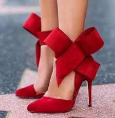 Red #heels for a Xmas party