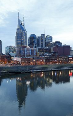 Downtown Nashville by Vanderbilt University, via Flickr