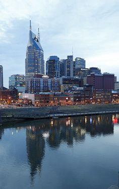 Downtown Nashville by Vanderbilt University, via Flickr