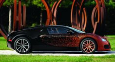 Bugatti gets Artsy with New Veyron Grand Sport Bernar Venet - Carscoop