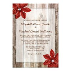 >>>Low Price Guarantee          Poinsettia Rustic Barn Wood Wedding Invitations           Poinsettia Rustic Barn Wood Wedding Invitations We provide you all shopping site and all informations in our go to store link. You will see low prices onHow to          Poinsettia Rustic Barn Wood Wedd...Cleck Hot Deals >>> http://www.zazzle.com/poinsettia_rustic_barn_wood_wedding_invitations-161012719085339260?rf=238627982471231924&zbar=1&tc=terrest