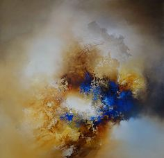 Large Canvas Abstract Painting By Simon by SimonkennysPaintings