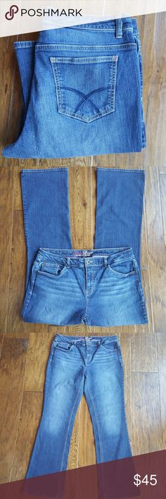 Spotted while shopping on Poshmark: Tommy Hilfiger Hope bootcut jeans long! #poshmark #fashion #shopping #style #Tommy Hilfiger #Denim