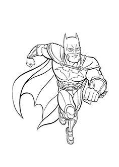 Ausmalbild Batman zum kostenlosen Ausdrucken und Ausmalen.  #Ausmalbilder | #Malvorlagen | #Batman | #Kindergarten | #Coloring | #ColoringPages Batman 2, Kids Learning, Pencil Drawings, Coloring Pages, Crafts For Kids, Activities, Kindergarten, Top, Drawing Drawing