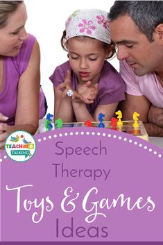 Speech Therapy Toys And Games Archives - Teaching Talking Speech Language Therapy, Speech Therapy Activities, Language Activities, Speech And Language, Speech Pathology, Teaching Kindergarten, Teaching Vocabulary, Teaching Ideas, Building Games For Kids