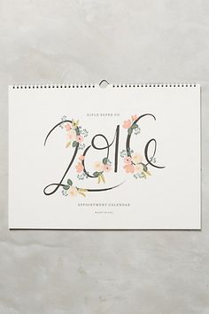 Get prepared for the new year with 2020 planners and calendars. Shop cute 2019 planners and week by week agendas in florals, prints, and more. Appointment Calendar, Gadgets, Calendar Design, Rifle Paper Co, Getting Organized, Appointments, Home Gifts, Design Elements, Stationery