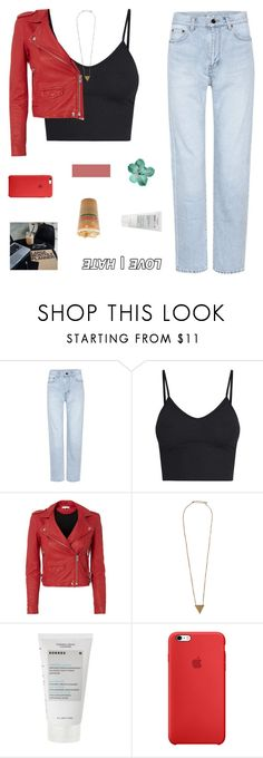 """but i'm not the guy your taking home"" by milkshakes-and-dogs ❤ liked on Polyvore featuring Yves Saint Laurent, IRO, Pieces, Korres, alltimefashion and sams5yrchallenge"