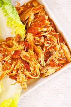 Shredded Chicken aus dem Slow Cooker - Powered by @ultimaterecipe