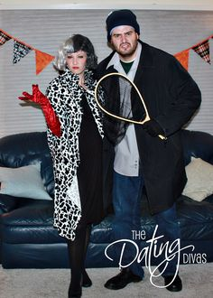 50 Couples Halloween Costumes - It's going to happen @John Searles Searles Peterson, you will be my other half of a super tacky couple costume.