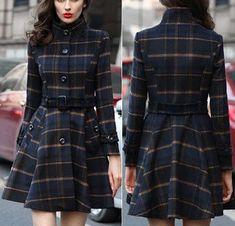 Vestido casaco | DIY - molde, corte e costura - Marlene Mukai