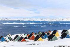 Greenland's capital of Nuuk
