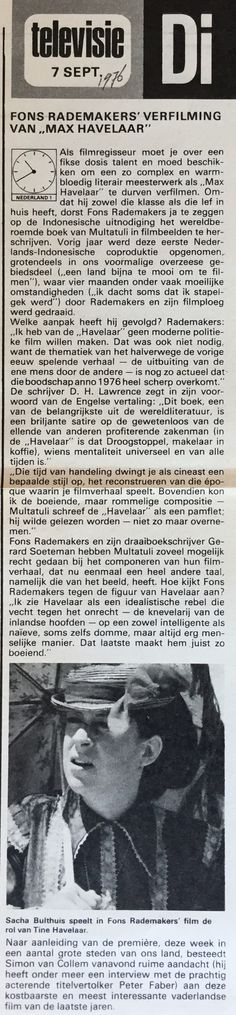 Max Havelaar - Televizier 1976 #36