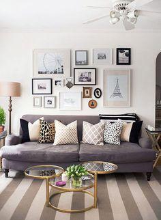 No blog >> 5 maneiras de integrar almofadas decorativas! #decoração #homedecor #dicas