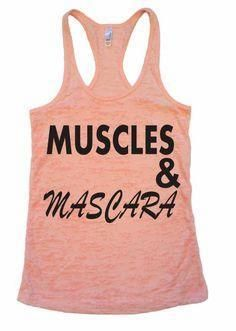 Muscles and Mascara!     Muscles and Mascara!  #fitness   #workout   #gymtime   #sweat   #run   #fit   #health