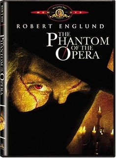 THE PHANTOM OF THE OPERA: Directed by Dwight H. Little.  With Robert Englund, Jill Schoelen, Alex Hyde-White, Bill Nighy. A darker version of the classic Gaston Leroux novel. A young soprano becomes the obsession of a horribly disfigured composer who has plans for those oppose himself or the young singer.