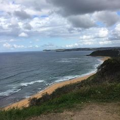 Moody day for a walk to the headland