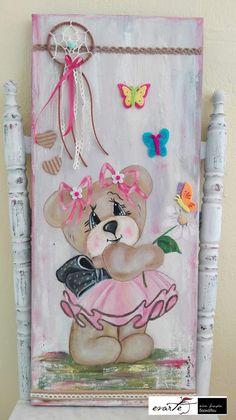 Fb:evarte χειροποιητες δημιουργιες Art Work, Dream Catcher, Decoupage, My Arts, Christmas Ornaments, Canvas, Holiday Decor, Handmade, Painting