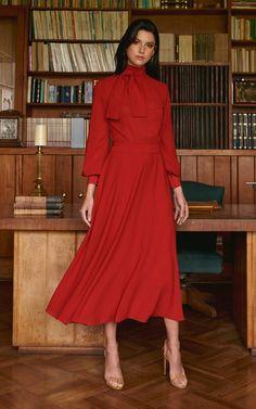 Get inspired and discover Andres Otalora trunkshow! Shop the latest Andres Otalora collection at Moda Operandi. Elegant Dresses Classy, Elegant Outfit, Classy Dress, Classy Outfits, Beautiful Dresses, Muslim Fashion, Modest Fashion, Women's Fashion Dresses, Dress Outfits