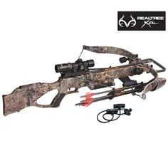 #NEW Realtree Xtra® Camo Excalibur Matrix 380 Crossbow Package - Powerful enough to handle the largest game. Quad-Loc riser for massive strength. R.E.D.S system reduces noise and vibration. Includes scope, quiver, bolts, cocking aid and more. $1,099.99. #realteeXtra