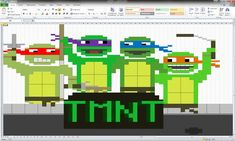 Beautiful graphics don't always require fancy software. Here are nine creative projects you won't believe were made in Microsoft Excel.