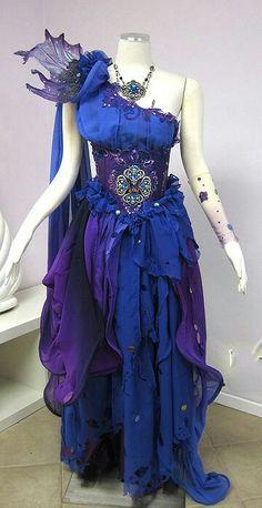 Pretty Dresses, Beautiful Dresses, Estilo Lolita, Fantasy Gowns, Fantasy Hair, Fantasy Makeup, Fairy Dress, Cosplay Costumes, Fairy Costumes