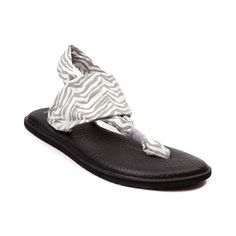 """Bought these the other day at Journeys - absolutely the most comfortable flip-flop ever.  With the diabetic neuropathy in my feet, regular ffs won't stay on well, I hate straps around my ankles, but the fabric """"straps"""" on these are like they arn't there."""