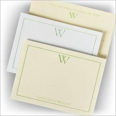 Initial Success! Correspondence Cards