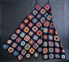 omⒶ KOPPA - Long colored granny dress