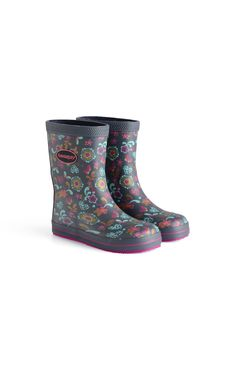 79ef624e070b Havaianas Galochas Kids Prints Rain Boot Navy Blue Price From  37