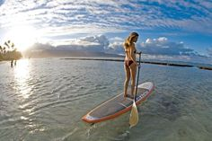 stand up paddle board!