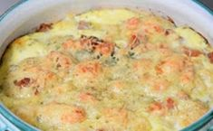 Clafoutis of cauliflower with chorizo ​​WW, recipe of a tasty salty and light clafoutis, easy and simple to make, to serve as a starter or main course accompanied by a good salad. Ww Recipes, Crockpot Recipes, Cooking Recipes, Healthy Recipes, Cake Recipes, Chorizo, Cooking Chef, Batch Cooking, Buffets