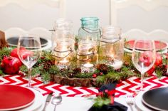 christmas centerpiece ideas | Centerpiece Ideas for Christmas Dinner - 4homedecoration