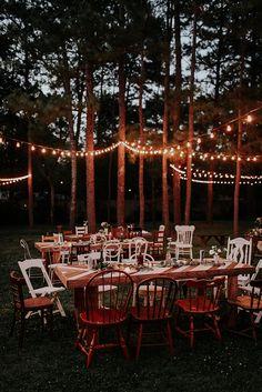 Unique Backyard Receptions Ideas