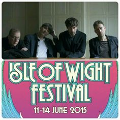 #BLUR - #ISLEOFWIGHTFESTIVAL  Blur will be the headline act on the Saturday night at June's 2015 Isle of Wight Festival.  They'll be joined by #FleetwoodMac, #TheProdigy, #TheBlackKeys, #PharrellWilliams, #PaoloNutini, #JessieWare, #JamesBay, #BillyIdol, #PaulOakenfold, #TheCharlatans and more at #SeaclosePark.   Next month, Blur will release their new album #TheMagicWhip.  (Notes: Takes place 11-14th June, 2015)  Posted on: Friday 27th March 2015, 12:42 PM  Source: CI4TKS™ - The Ticket…