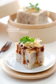 港式蘿蔔糕 | 小小米桶 Cantonese turnip cakes
