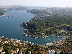 İstinye ve İstanbul Boğazı